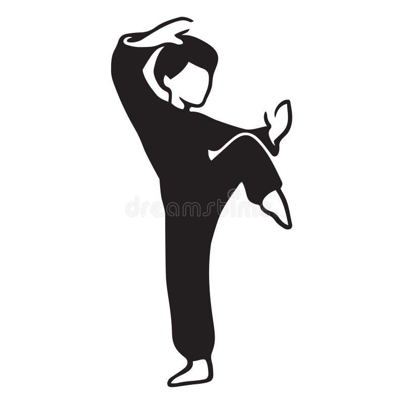 Art Master martial illustration de vecteur