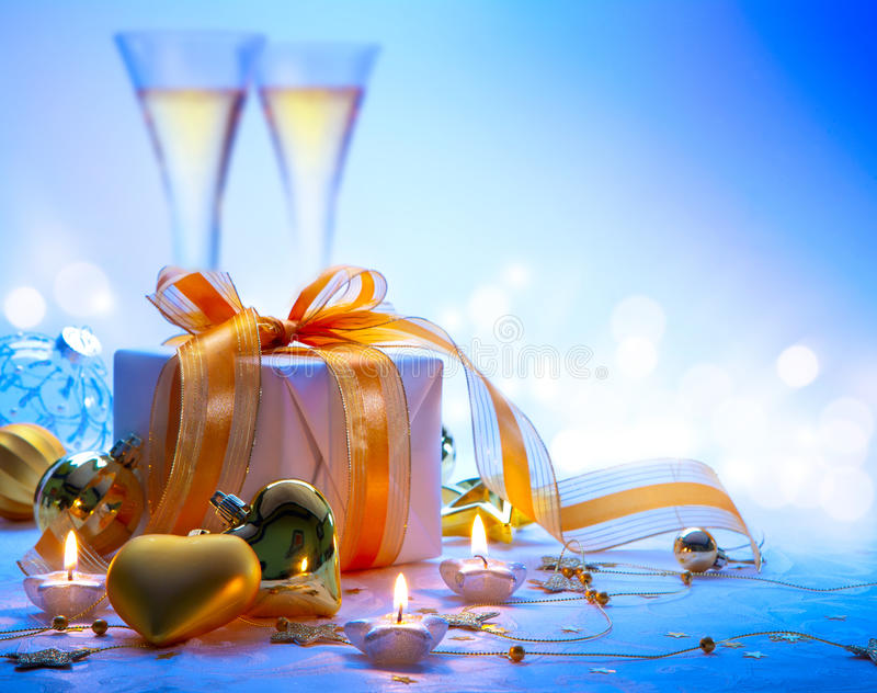 Art merry Christmas and happy new year royalty free stock photos
