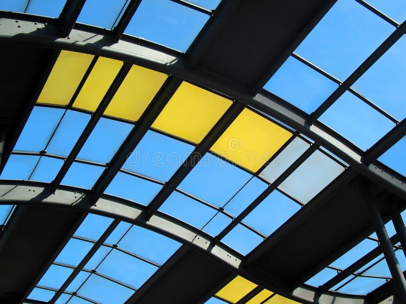 Art moderne de toit photos libres de droits