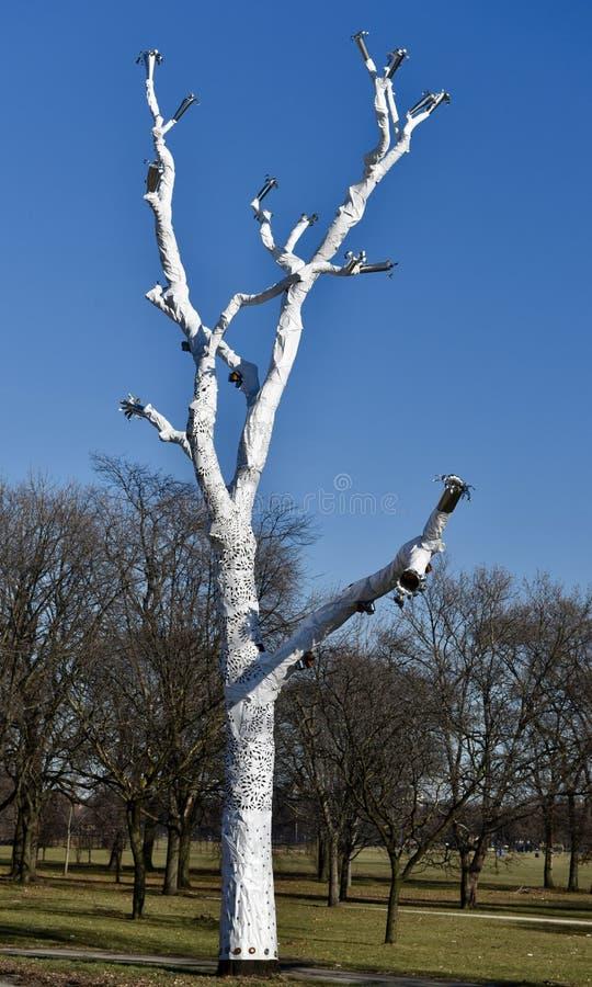Art mort d'arbre images libres de droits