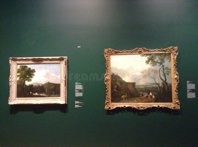 Art Museum royaltyfria foton