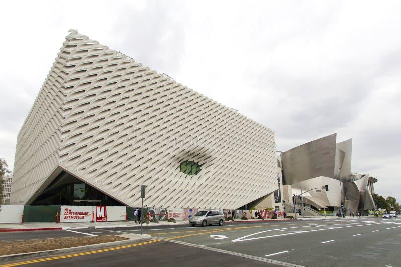 Art Museum contemporáneo en Los Ángeles foto de archivo