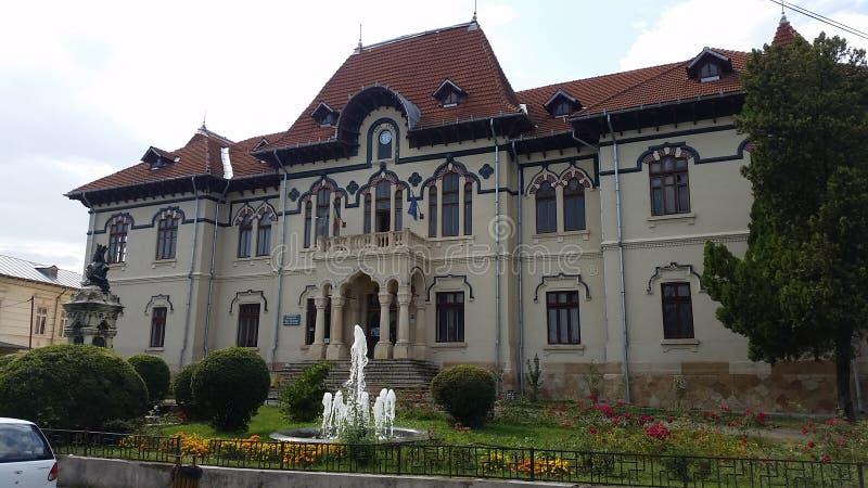 Art Museum de Campulung, Romênia fotos de stock royalty free