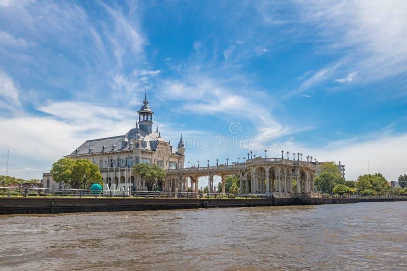 Art Museum de Tigre Museo De Arte Tigre - la T.A.O. - Tigre, province de Buenos Aires, Argentine photographie stock libre de droits