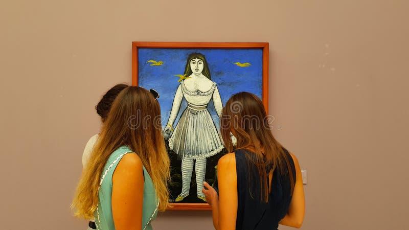 Art Museum di Georgia a Tbilisi, Georgia immagine stock libera da diritti