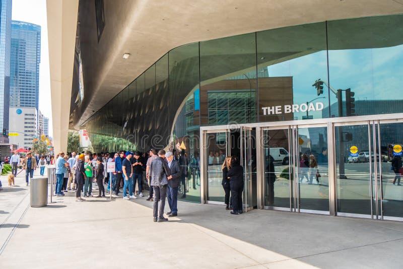 Art Museum largo na baixa de Los Angeles - CALIF?RNIA, EUA - 18 DE MAR?O DE 2019 fotografia de stock royalty free