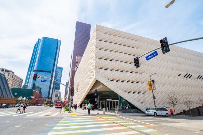Art Museum largo na baixa de Los Angeles - CALIF?RNIA, EUA - 18 DE MAR?O DE 2019 fotografia de stock