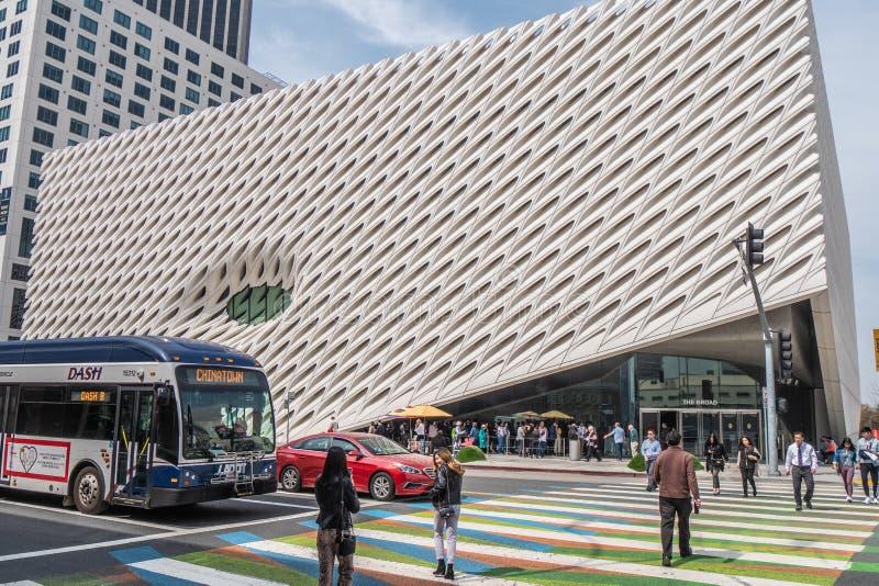 Art Museum largo na baixa de Los Angeles - CALIF?RNIA, EUA - 18 DE MAR?O DE 2019 imagem de stock royalty free