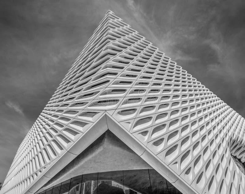 Art Museum largo na baixa de Los Angeles - CALIF?RNIA, EUA - 18 DE MAR?O DE 2019 foto de stock