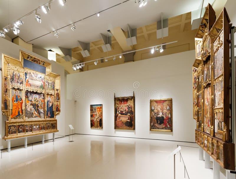 Art Museum nacional de Catalonia de Barcelona imagem de stock royalty free