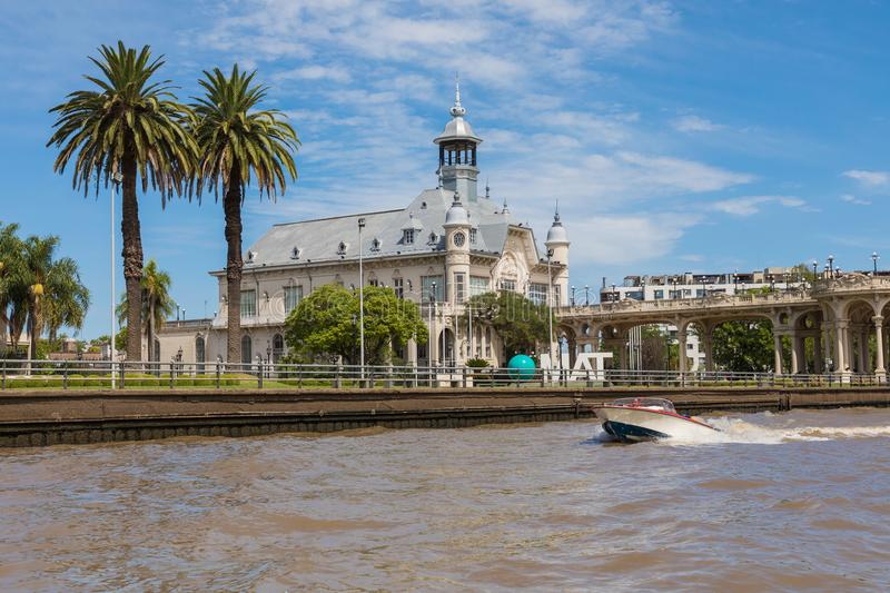 Art Museum of Tigre - Tigre, Buenos Aires, Argentina. royalty free stock photography