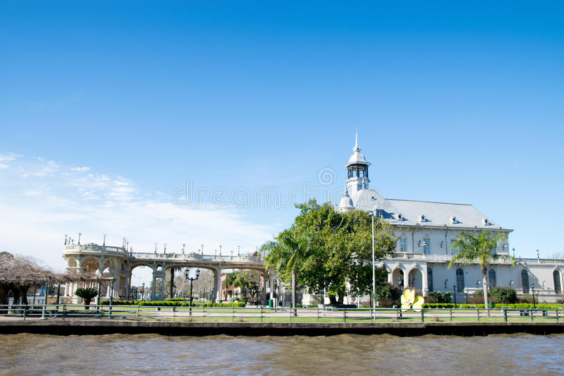 Art Museum of Tigre City, Buenos Aires. Argentina stock images