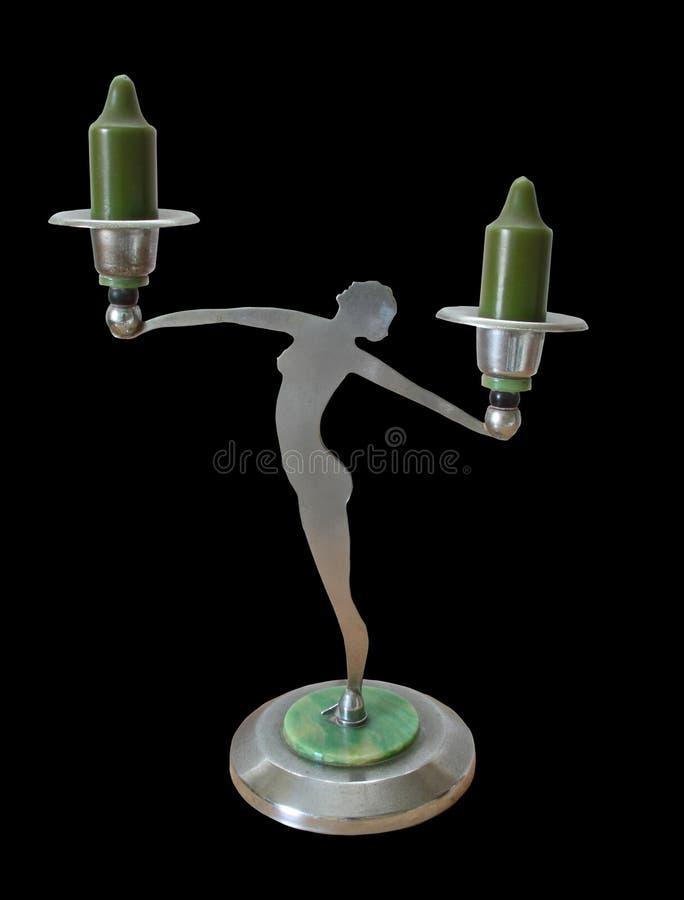 Download Art Nouveau Antique Candlestick Stock Image - Image of candles, antique: 16413219