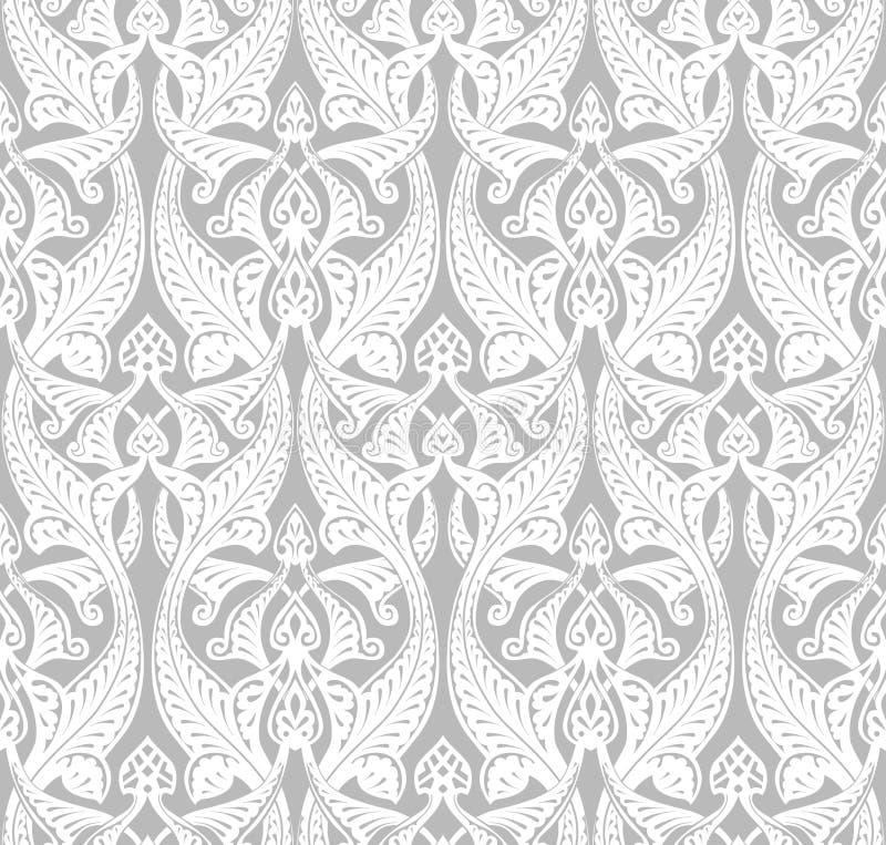 Art Nouveau Background d'annata royalty illustrazione gratis