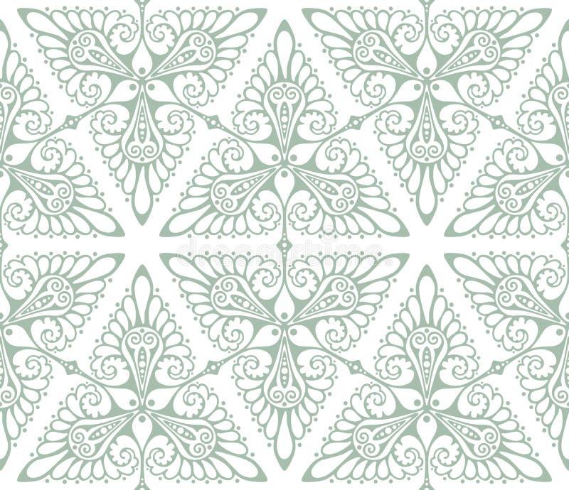 Art Nouveau bakgrundsmodell vektor illustrationer