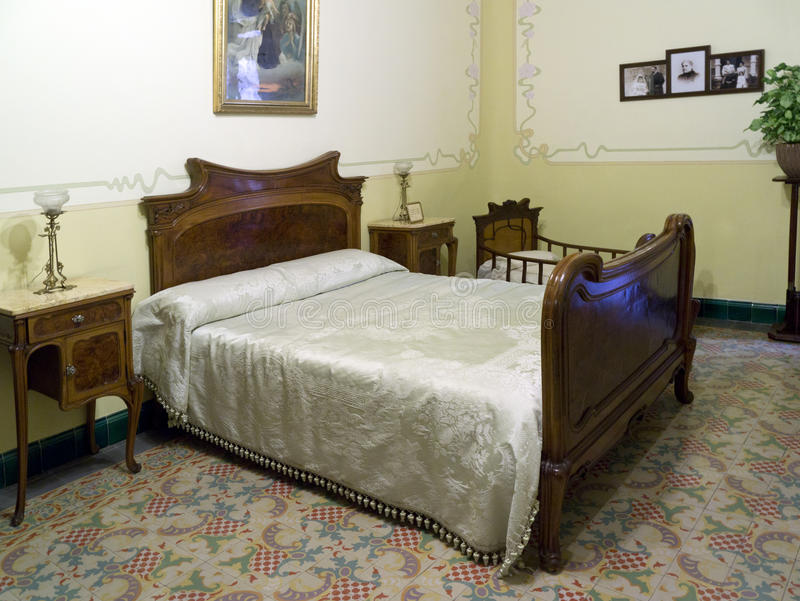 Download Art Nouveau Bedroom   Spanish House Editorial Image   Image   22442175. Art Nouveau Bedroom   Spanish House Editorial Image   Image  22442175