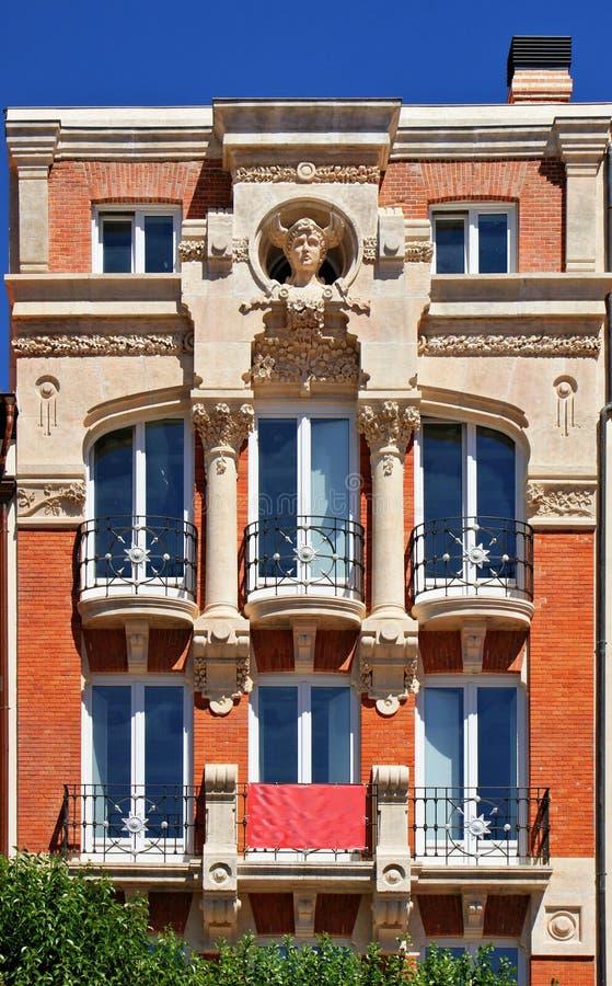 Download Art nouveau building stock photo. Image of housing, exterior - 27592470