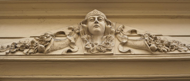 Art nouveau stock image