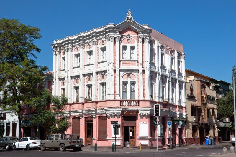 Art Nouveau Facade in Santiago do Chile