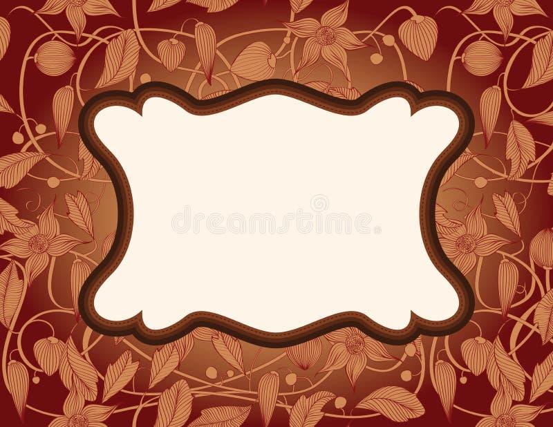 Download Art Nouveau Frame stock vector. Image of fruit, decoration - 26223768