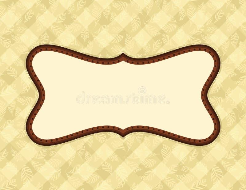 Download Art Nouveau Frame stock vector. Image of line, illustration - 26223769