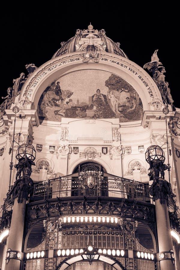 Art Nouveau Glory royalty free stock image