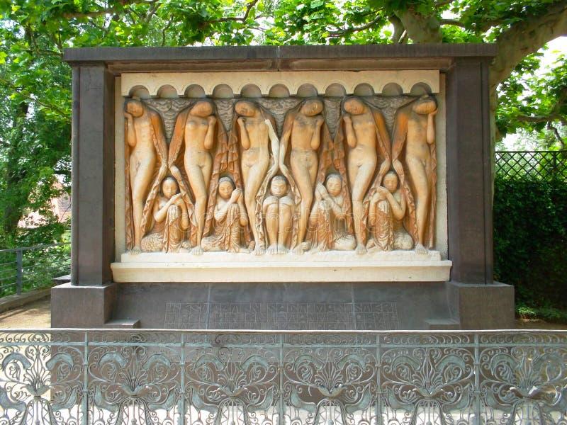 Art nouveau mathildenhöhe darmstadt, germany, europe, friese. Art nouveau mathildenhöhe darmstadt, germany, europe stock photo