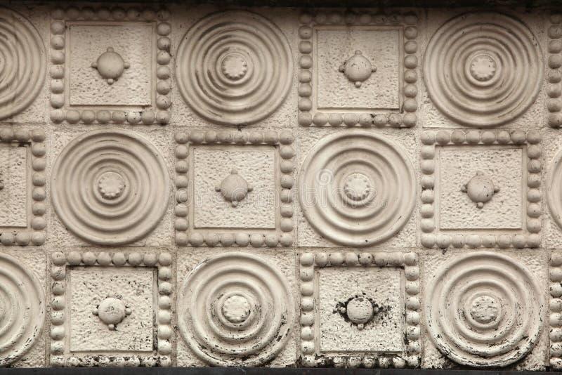 Art Nouveau pattern in Hradec Kralove, Czech Republic. Art Nouveau pattern in Hradec Kralove, East Bohemia, Czech Republic stock images