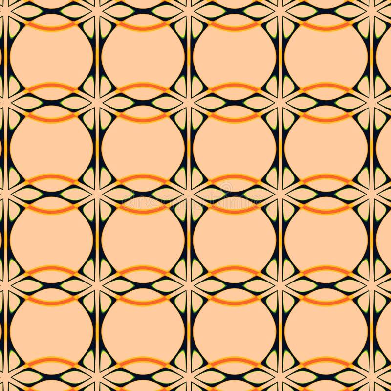 Art Nouveau Style Wallpaper Stock Illustration - Illustration of ...