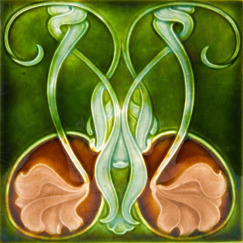 Download Art Nouveau Tile stock photo. Image of nouveau, section - 5303628