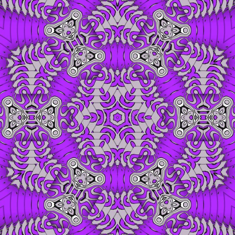 Art numérique violet illustration stock