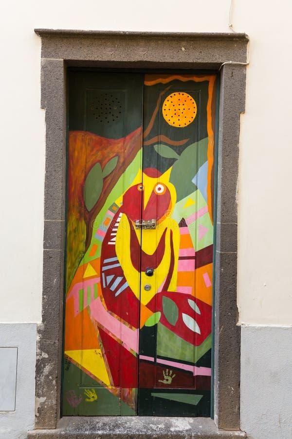 open door painting. Download The Art Of Open Door In Street Santa Maria. A Project Which Painting