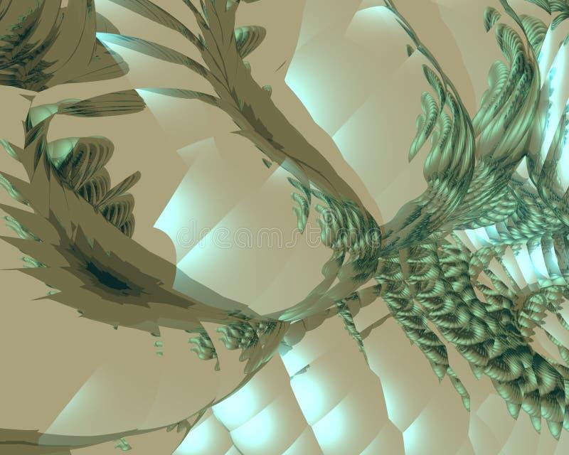 Art optique Bioform 02 B illustration libre de droits