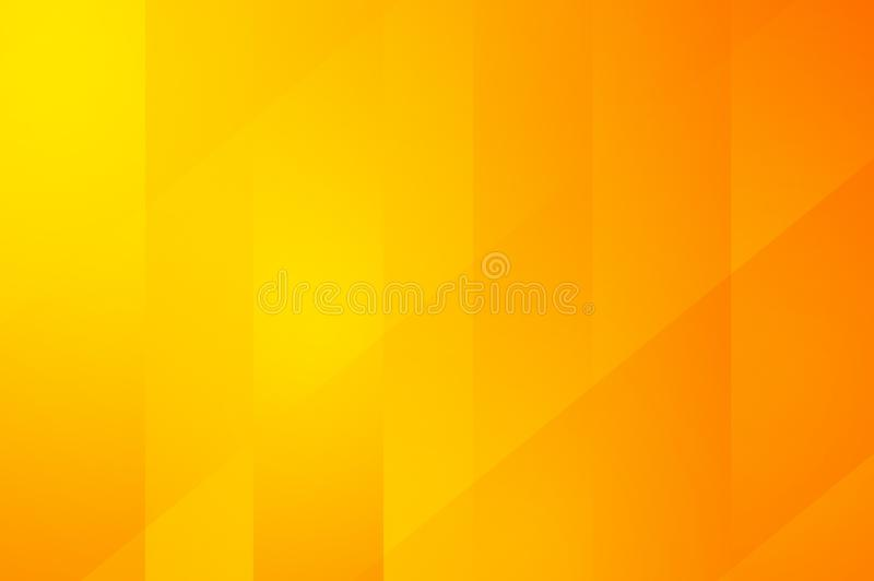 Art orange and yellow color abstract pattern background royalty free illustration