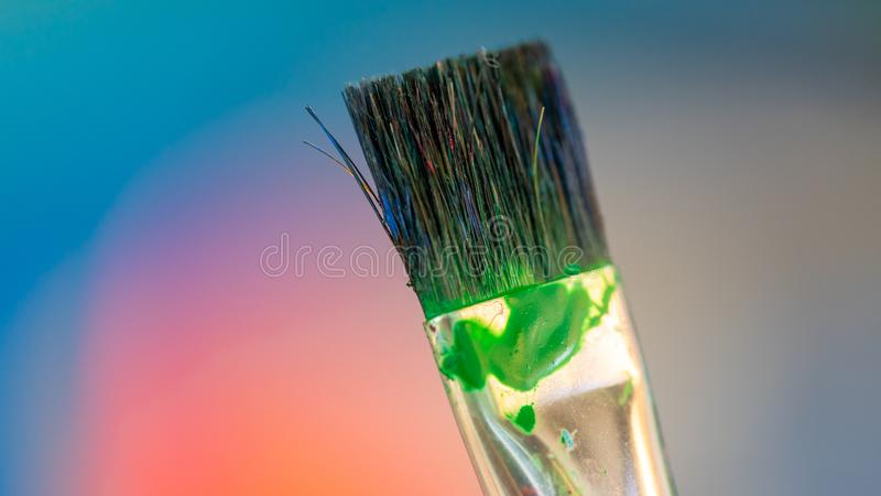 Art Paint Brush Tool Set. It`s Time To Create Your Own Style royalty free stock photo