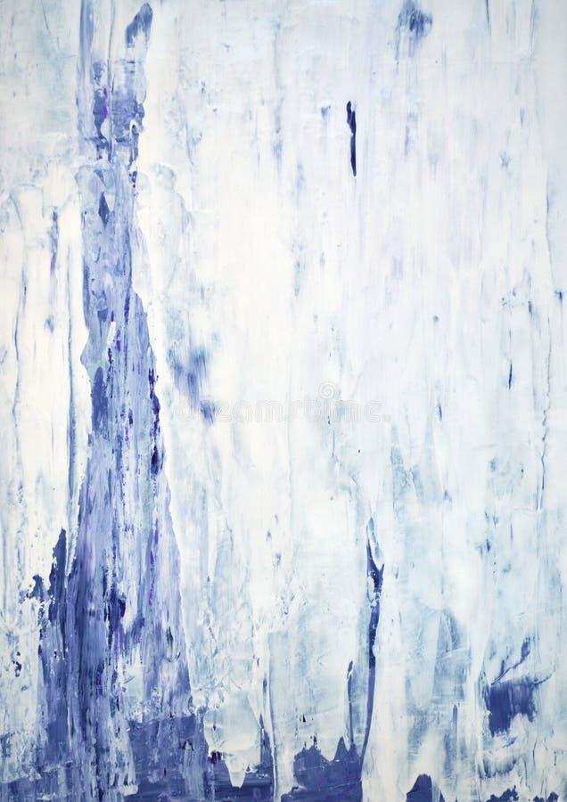 Art Painting abstrato roxo imagens de stock royalty free