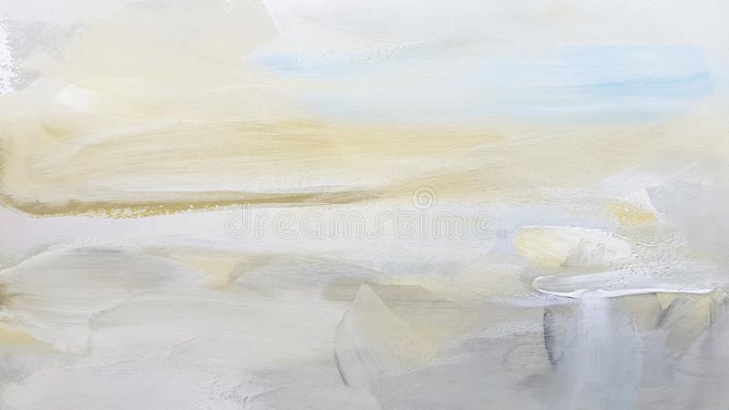 Art Painting Background branco abstrato foto de stock royalty free