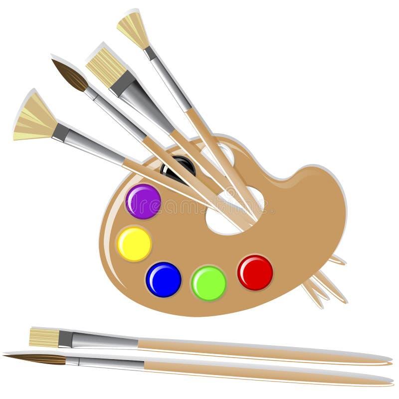 Free Art Palette. Royalty Free Stock Photos - 20926758