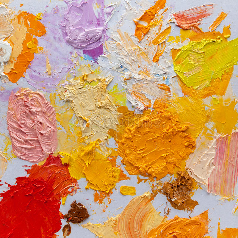 Art palette stock images