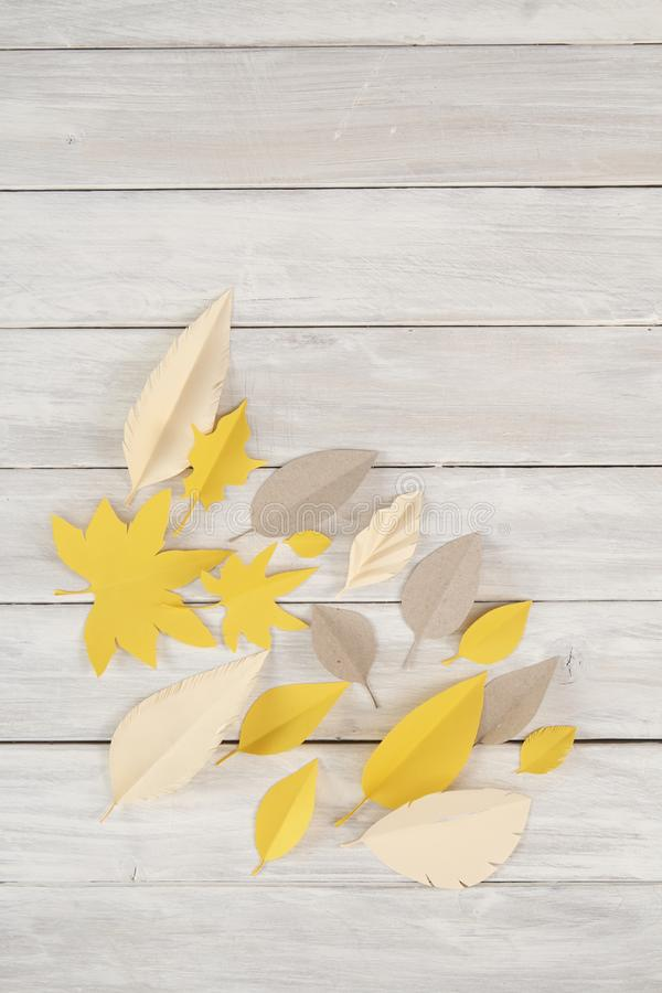 Art paper cut trendy craft style stock images