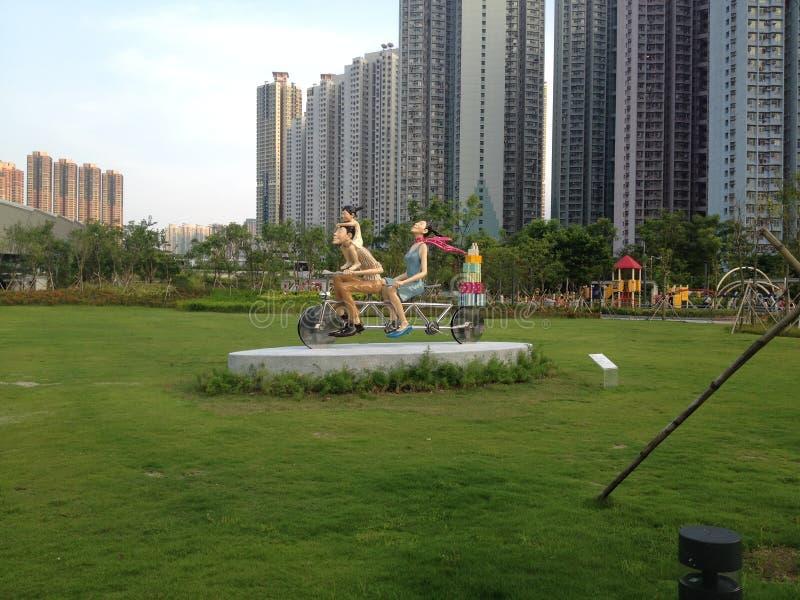Art In Park contemporâneo fotos de stock