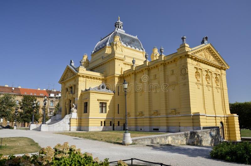 Art Pavilion, Zagreb 3 stock foto's