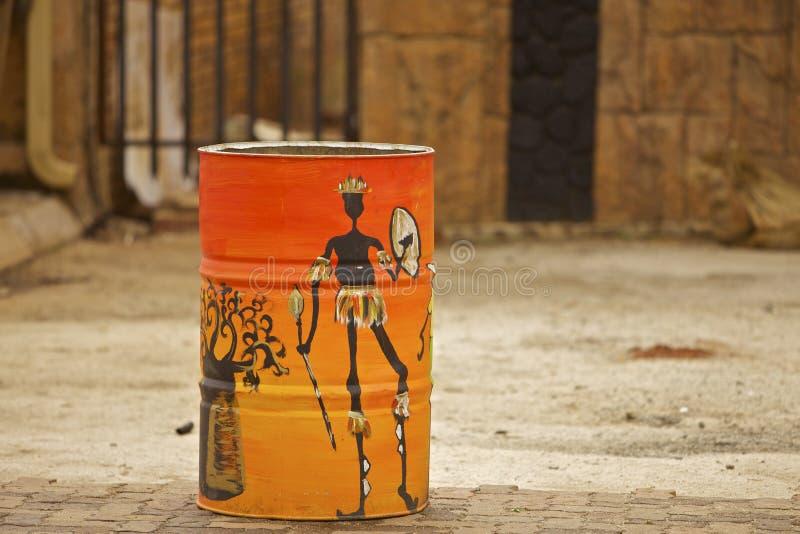 Art peint rural de l'Afrique du Sud photos libres de droits