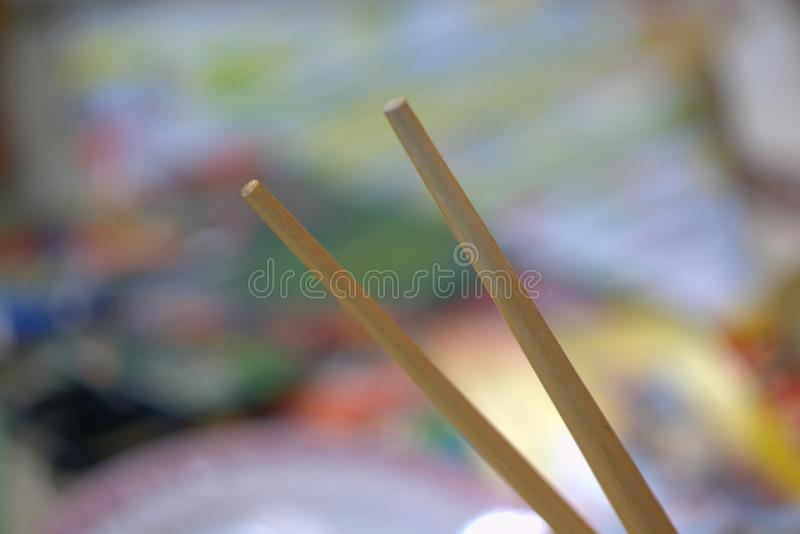 Art pencil shaft royalty free stock image