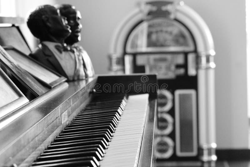 Art Piano Keyboard imagens de stock