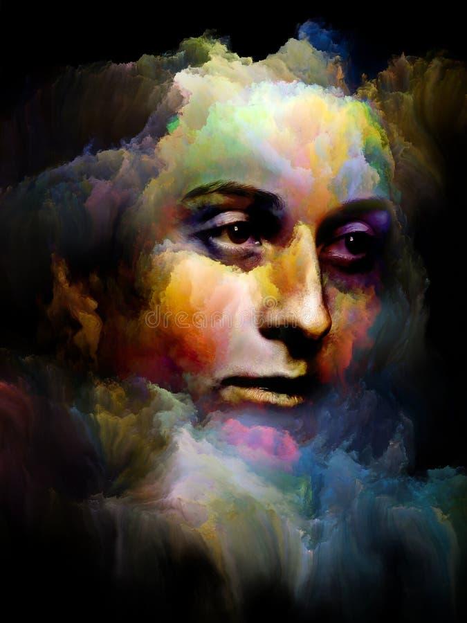 Art Portrait stock illustration