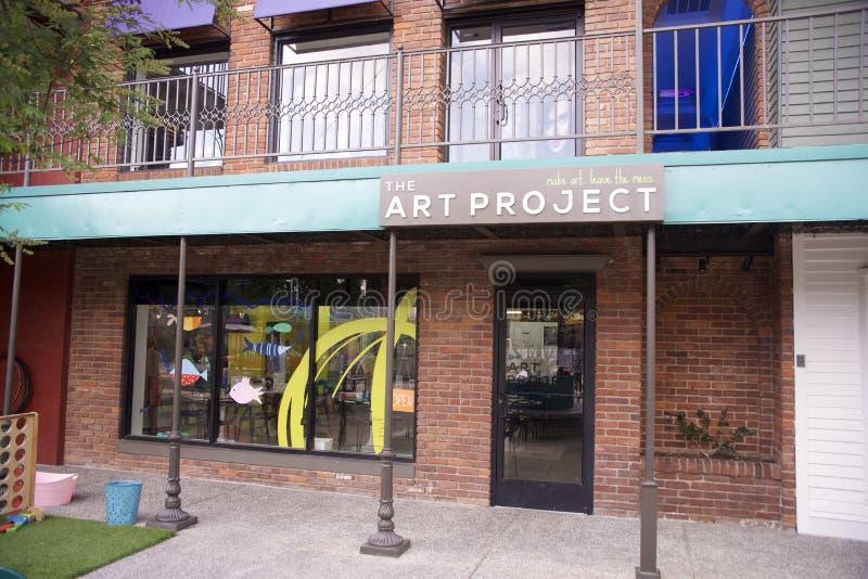Art Project, Memphis, Tennessee royaltyfri bild