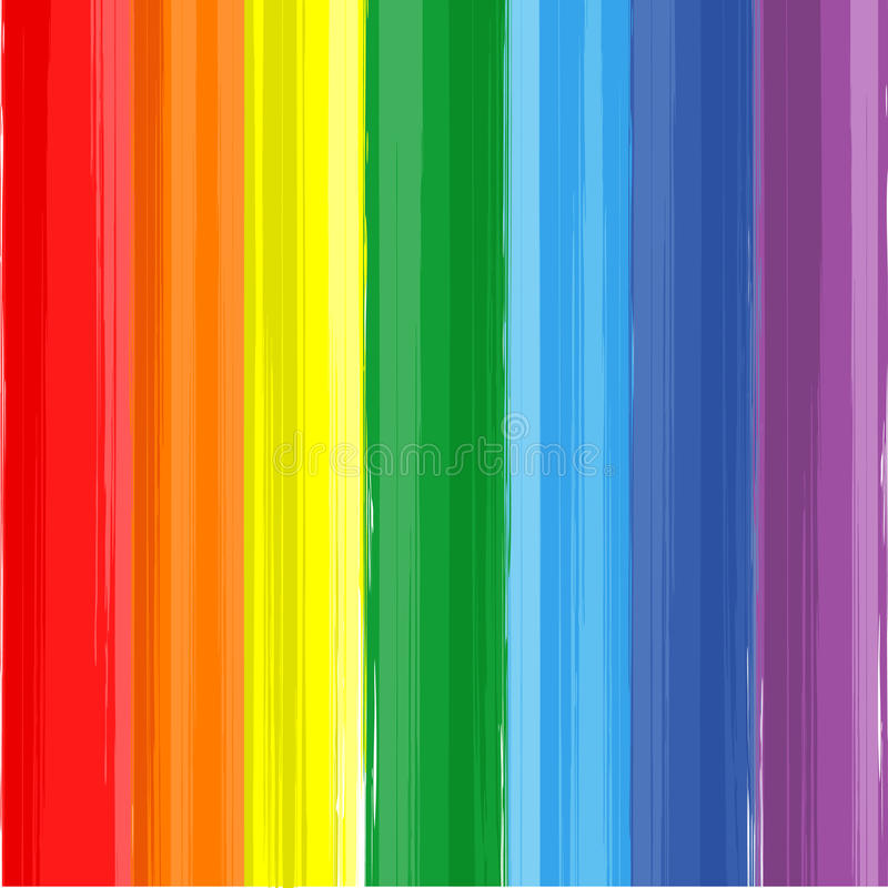 Art rainbow color paint splash vector background royalty free illustration