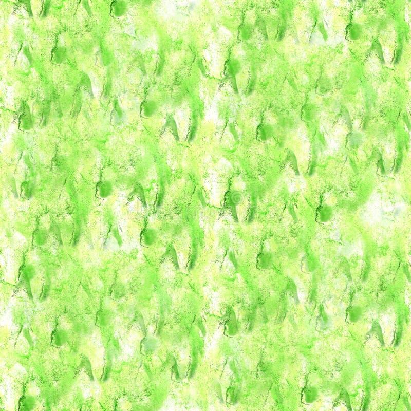 Art The-Salataquarelltintenfarbenklecks Watercolour-Spritzen colo vektor abbildung