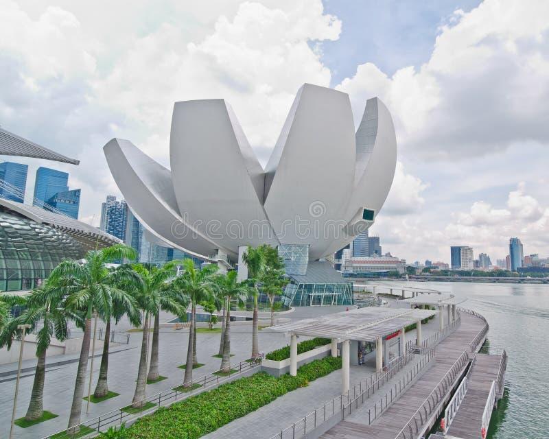 Art Science Museum, Singapore stock photo